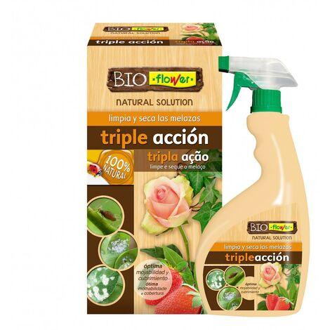 Triple acción contra insectos, melazas y hongos Flower