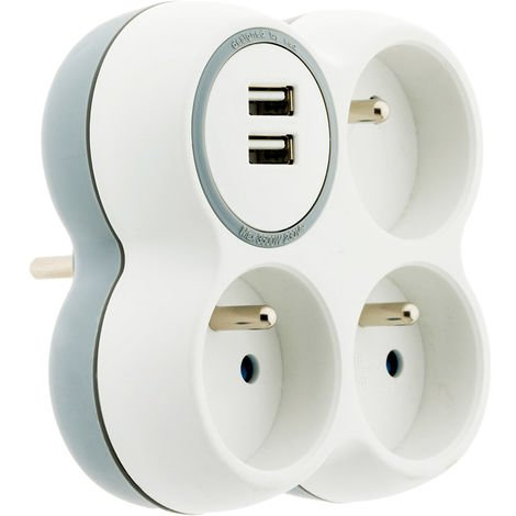 Triplite 16A 2P+T + 2 ports USB