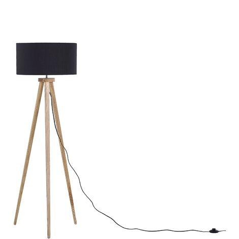 Tripod Floor Lamp Black NITRA