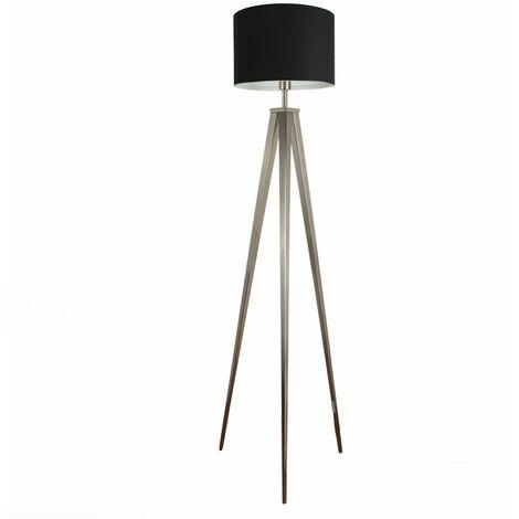 Tripod Floor Lamp - Black - Silver