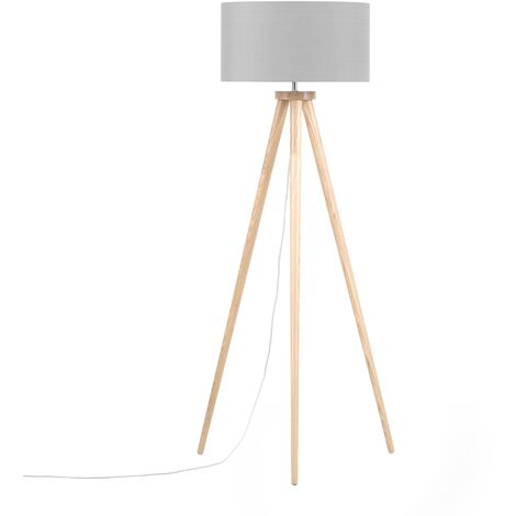 Tripod Floor Lamp Grey NITRA