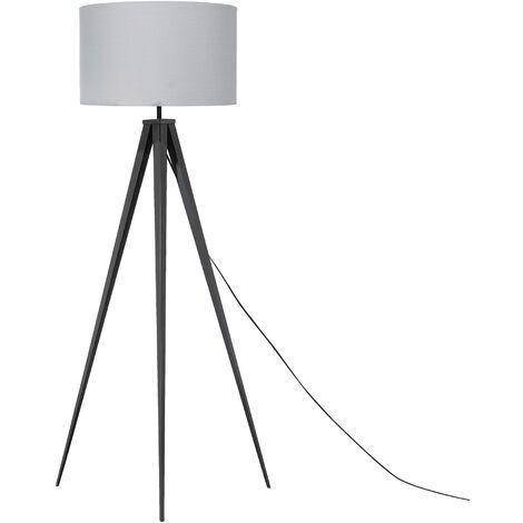 Tripod Floor Lamp Grey STILETTO
