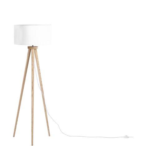 Tripod Floor Lamp White NITRA