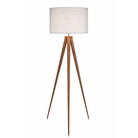 Tripod Floor Lamp with White Shade by Versanora Modern Lighting VN-L00007-UK