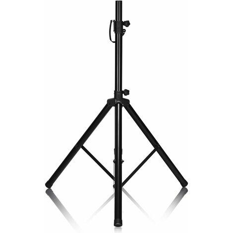 Trípode para Altavoz Soporte Profesional Plegable Altura Ajustable Desde 97-183 cm Capacidad Carga hasta 50 kg