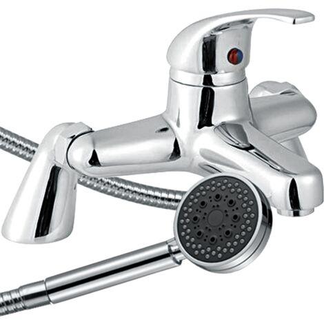 Trisen Ailsa Single lever bath shower mixer with shower kit TT004