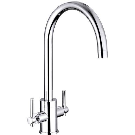 Trisen Avara Chrome two handle Kitchen mixer TK012