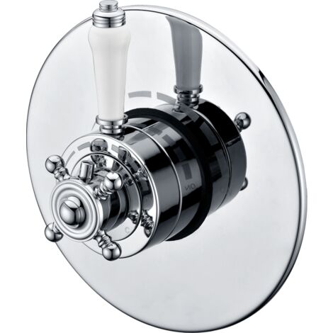 Trisen Formby Chrome Concealed Thermostatic Shower Valve/Mixer TSV102