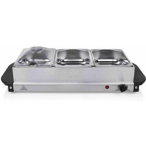 Tristar Chauffe-plat pour buffet 200 W 4,2 L Acier inoxydable Argenté