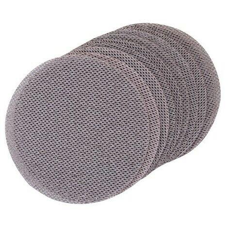 Triton 424894 Hook & Loop Mesh Sanding Disc 150mm 10pk 240 Grit
