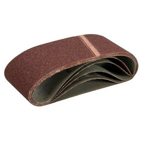 Triton 527343 Sanding Belt 100 x 610mm 5pk 40 Grit