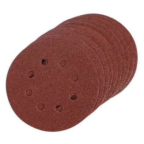 Triton 825495 Hook & Loop Sanding Disc 10pk 125mm 80 Grit