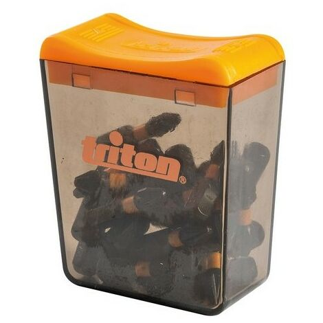 Triton 867179 Pozi Screwdriver Impact Bit 25pk PZ2 25mm