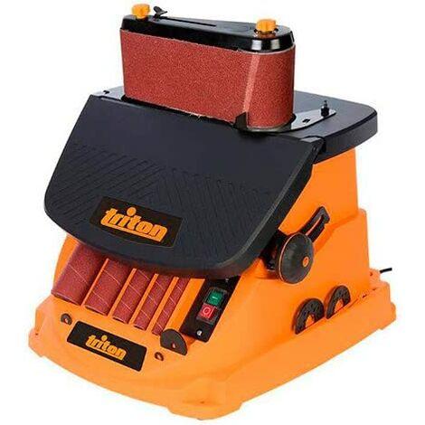 Triton 977604 Oscillating Spindle and Belt Sander, 450 W TSPST450, orange (UK plug and version)