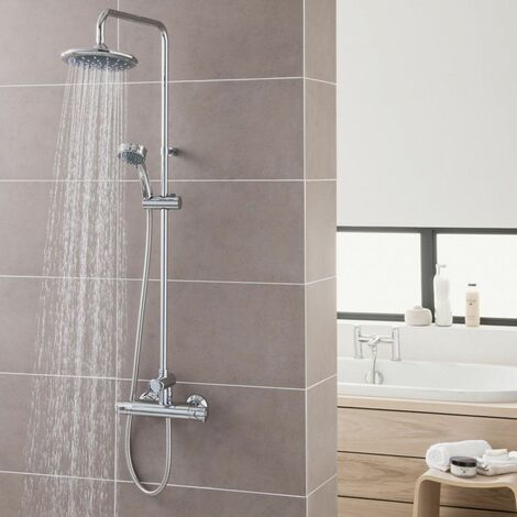 Triton Dene Diverter Thermostatic Mixer Shower - UNDETHBMDIV