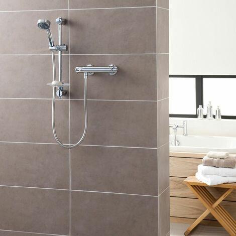 Triton Dene Hi-Flo Bar Mixer Shower - UNDETHBM