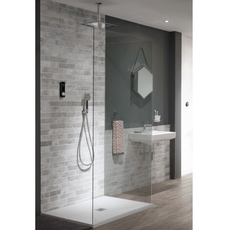 Triton HOME Digital Shower Double Head Contemporary Gravity Fed/Pumped