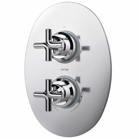 Triton Kensey Mixer Shower Valve Dual Control With Single Outlet