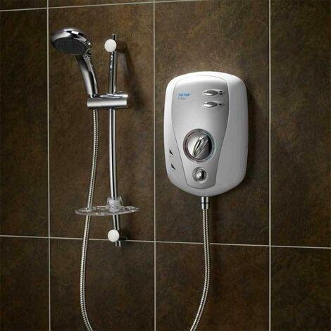 Triton T100xr Electric Shower 8.5kW White & Chrome