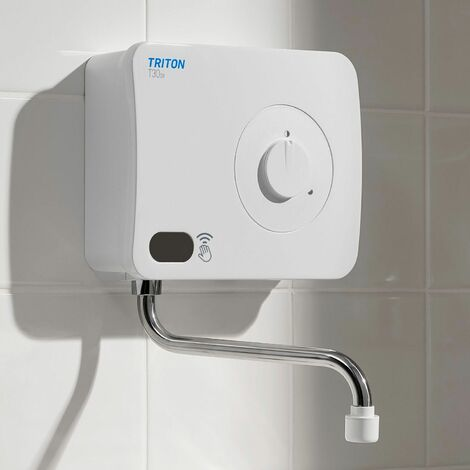 Triton T30i Infrared 3kW 240V Over Sink Electric Hand Wash Water Heater Unit