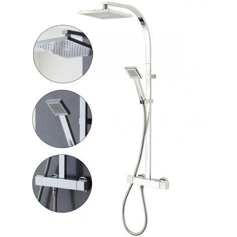 Triton Tees Bar Mixer Shower Chrome