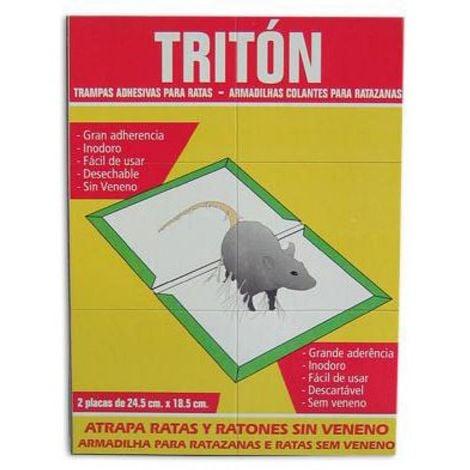 Triton trampas adhesivas