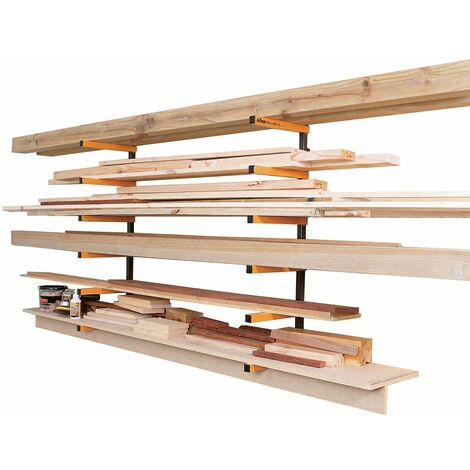 Triton WRA001 - Système d'étagères d'atelier WoodRack