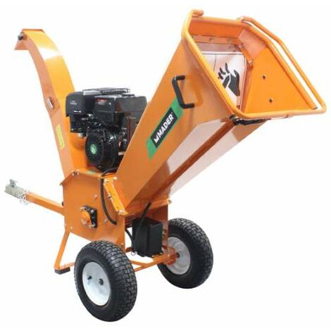 Triturador Agrícol, Hojas y Ramas, 13HP, 90mm - MADER® | Garden Tools