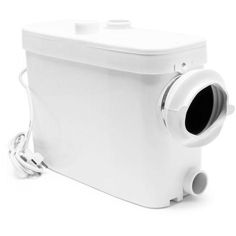 Triturador Sanitario WilTec 3/1 con conexión lateral 450W Evacuación aguas residuales y fecales WC