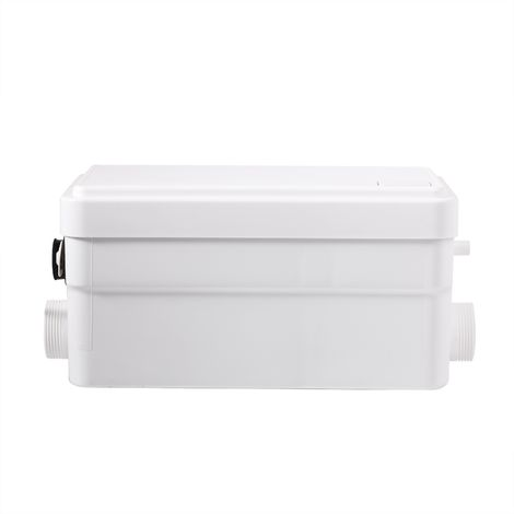 Triturador wc silencioso con 2 entradas para wc, ducha y lavabo