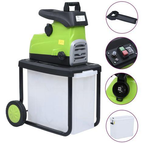 Trituradora de jardin electrica con caja de recoleccion 2800 W