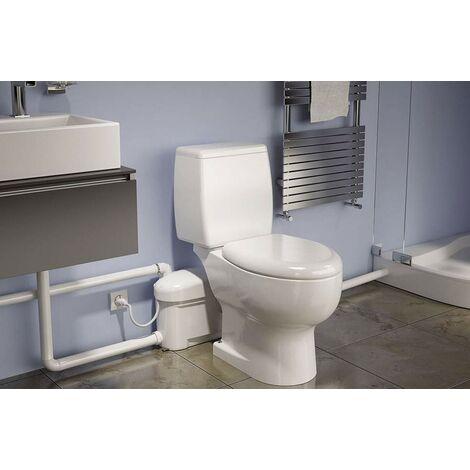 Trituradora silenciosa (2 aparatos + WC)