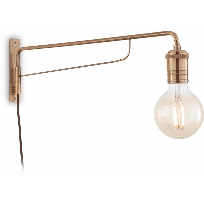 TRIUMPH antike Messing Wandleuchte 1 Glühbirne