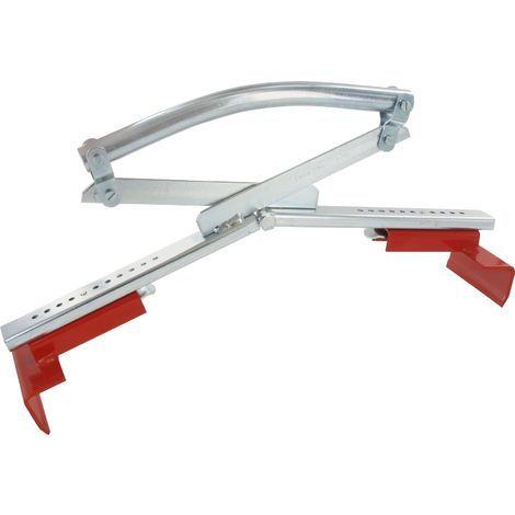 Profi Plattenheber verstellbar 30-50 cm Blocksteinheber Plattenträger