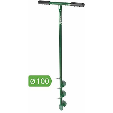 "main image of ""Trivella Manuale Diametro 10 mm Altezza 100 cm Verde, 100x3x71 cm"""