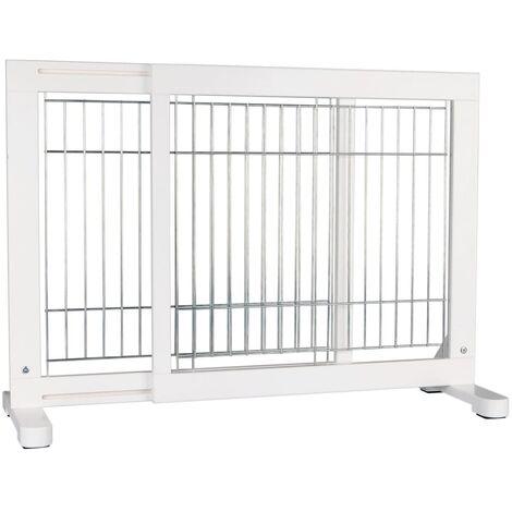 "main image of ""TRIXIE Barrera para perros de madera 65-108x61 cm"""