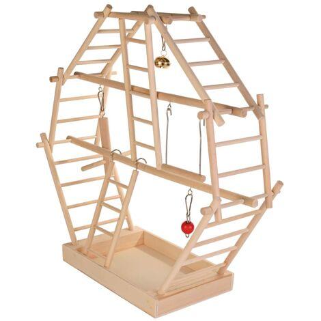 TRIXIE Bird Playground 44x44x16 cm Wood 5659 - Brown