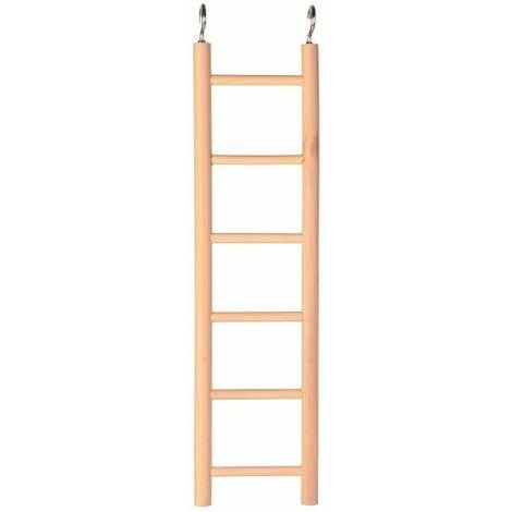Trixie Bird Wooden Cage Ladder - (6 rungs / 28 cm)