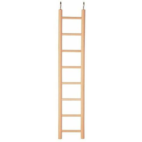 Trixie Bird Wooden Cage Ladder - (8 rungs / 36 cm)