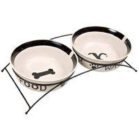 TRIXIE Bowl Set Eat On Feet 25 cm 5.2 L 24643