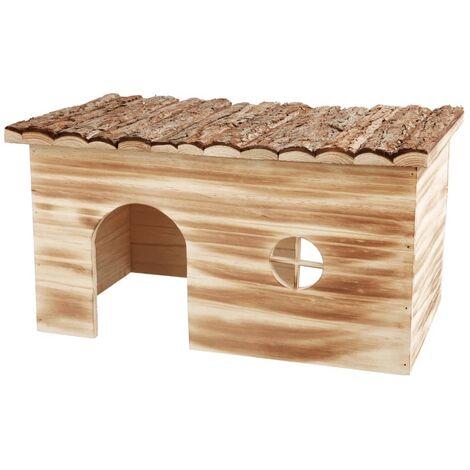 TRIXIE Casa para roedores Natural Living Grete 45x24x28cm madera 61975