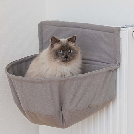 TRIXIE Cat Bed for Radiators XXL Brown - Multicolour