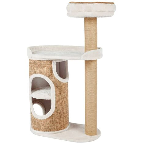TRIXIE Cat Scratching Post Falco Light grey and Brown - Multicolour
