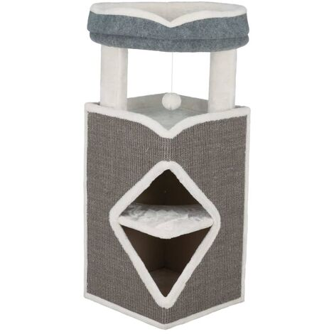 TRIXIE Cat Tower Arma Grey Blue and White - Multicolour