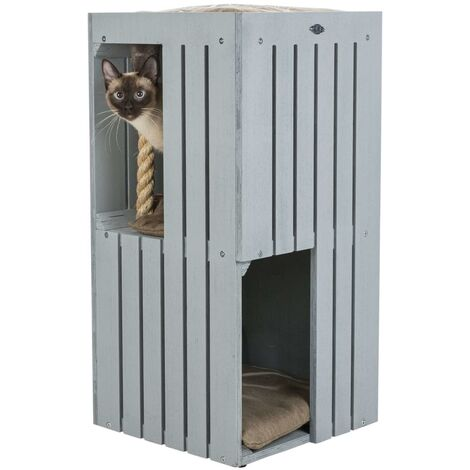 TRIXIE Cat Tower BE NORDIC Juna Grey and Beige - Multicolour