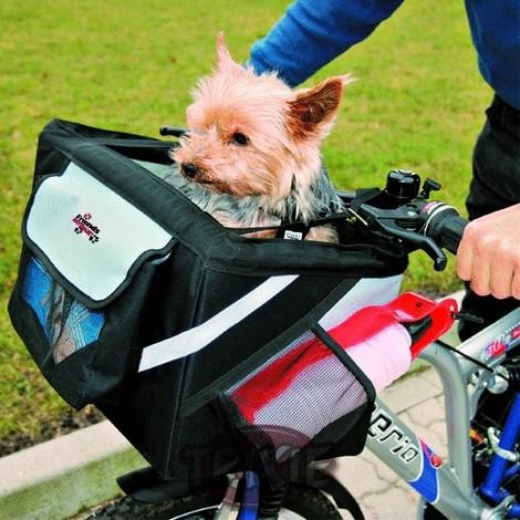 TRIXIE Cesta Bicicletas Para Perros Frontal