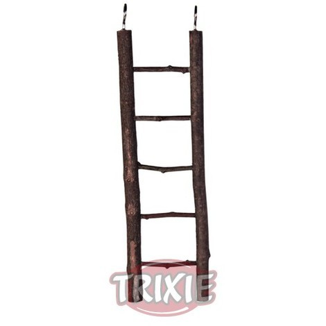TRIXIE Escalera madera natural 5 peldaños 26 cm