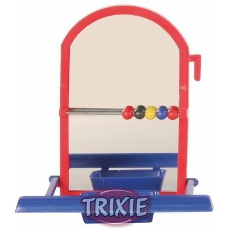 TRIXIE Espejo con Posaderos de Plastico 8cm
