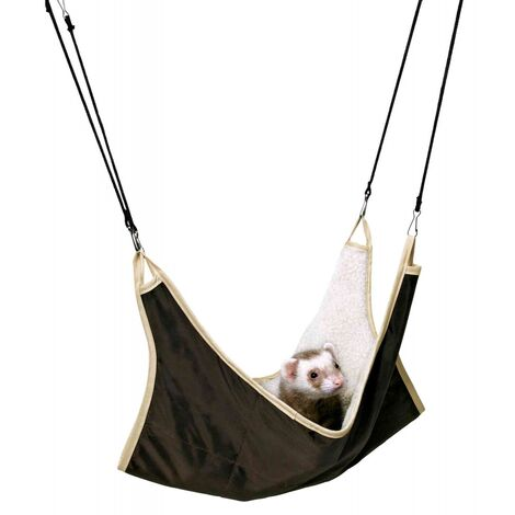 Trixie Ferret Hammock (One Size) (Brown/Beige)