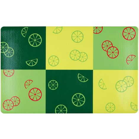 Trixie Fresh Fruits Place Mat (44 × 28 cm) (Green)